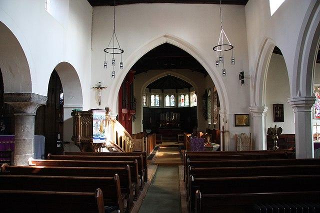 St.John the Baptist's nave