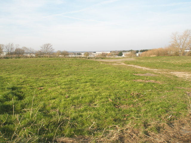 Looking towards the Sewage Farm from Budds Wall