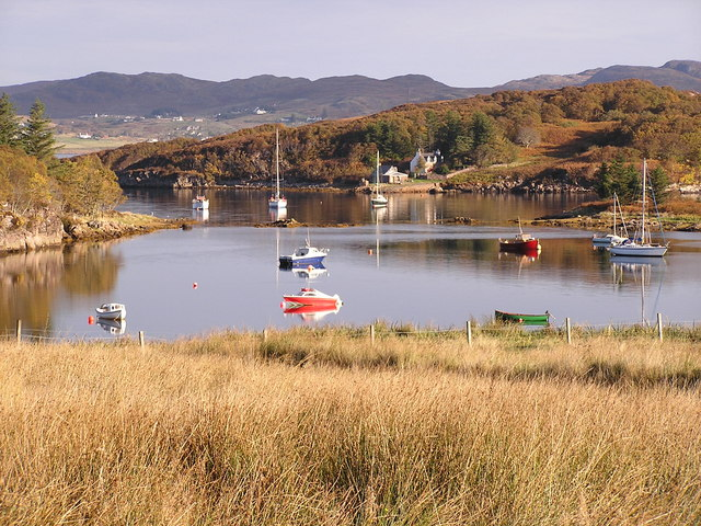 A corner of Badachro Bay