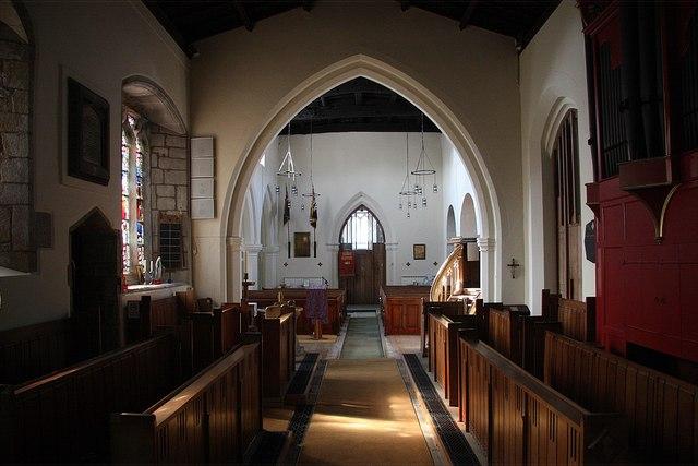 St.John the Baptist's church interior