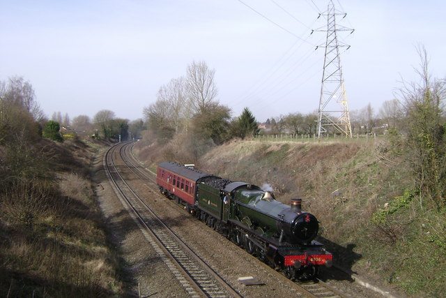 Steaming through Myton