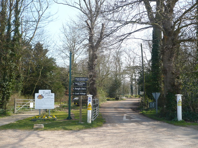 Gateway to Quex House and the Powell-Cotton Museum