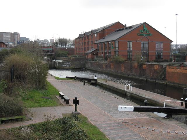 Campanile Hotel and Canal, Birmingham