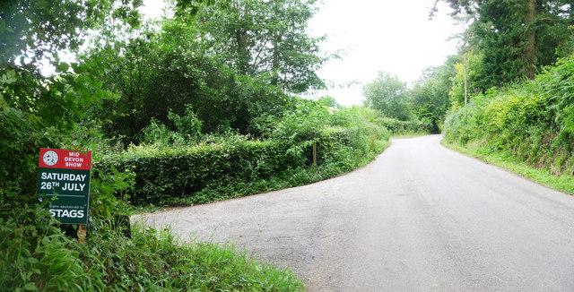 Tiverton : Old Bampton Road