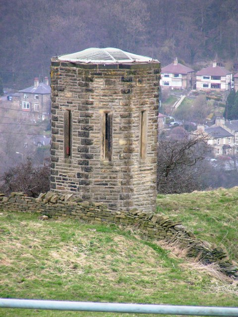 Ventilator Tower for the Shibden Tunnel