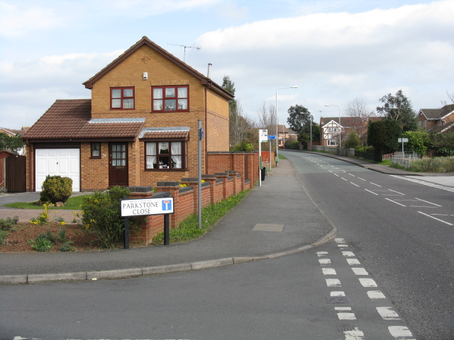 West Bridgford - Rugby Road at Parkstone Close