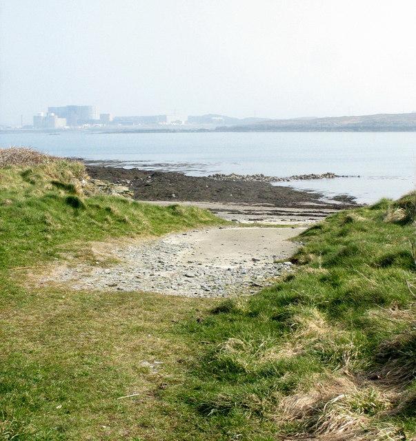 Slipway near the lifeboat memorial