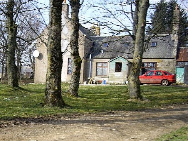 Belcherrie farmhouse