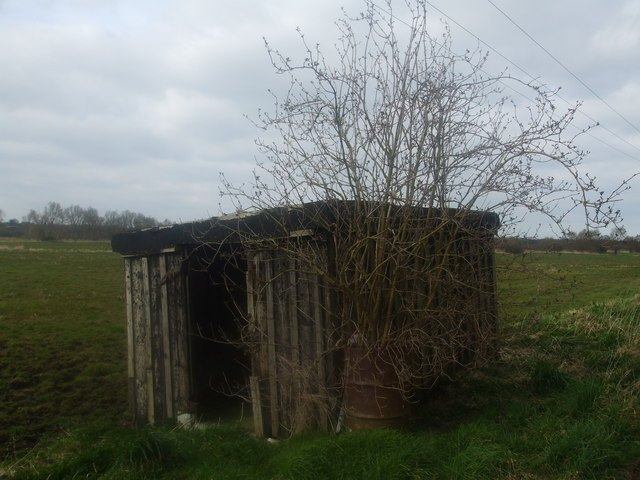 Old P-way hut on the Beccles marshes path