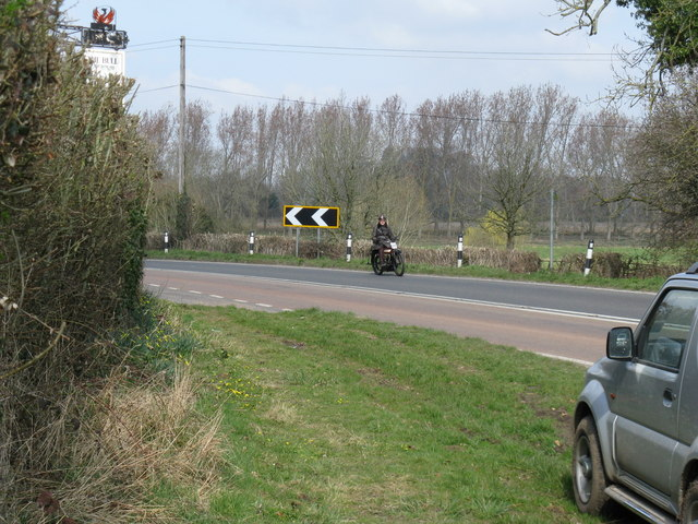 Motor Cyclist on the Pioneer Run