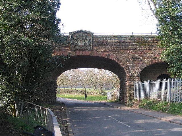 Coat of Arms Bridge, Styvechale