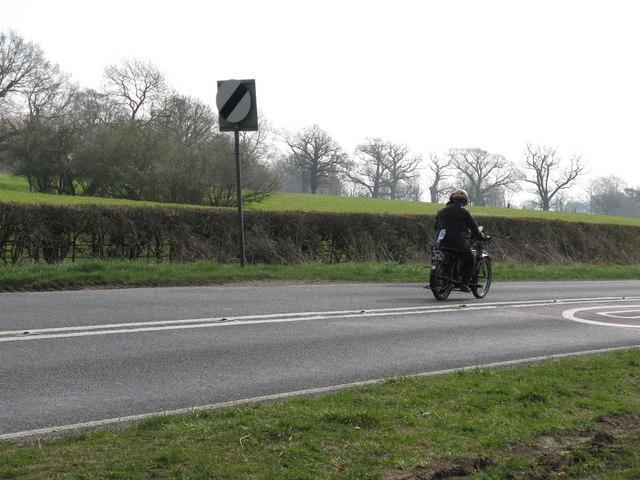 Veteran Motor Cycle on the Pioneer Run