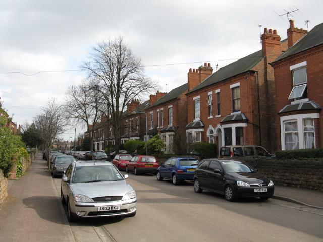 Nottingham - Edwardian semi-detached houses
