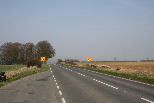 A361 nearing Shipton Under Wychwood