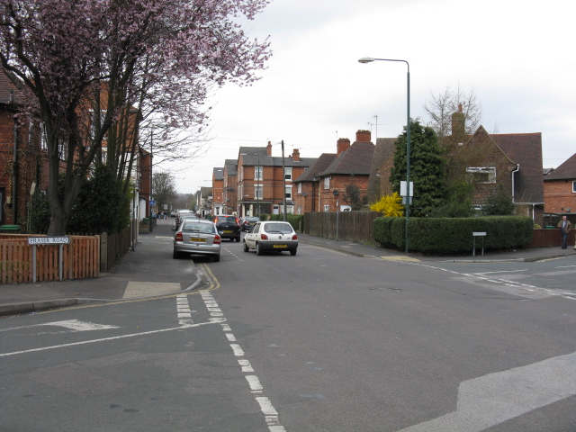 Bunbury Street at Fraser Road