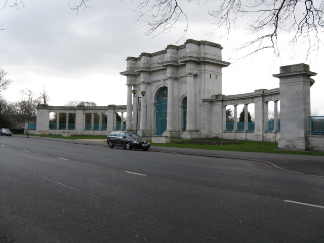 War Memorial Gateway, The Meadows, Nottingham