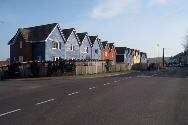 New Houses on Fort Road, Newhaven