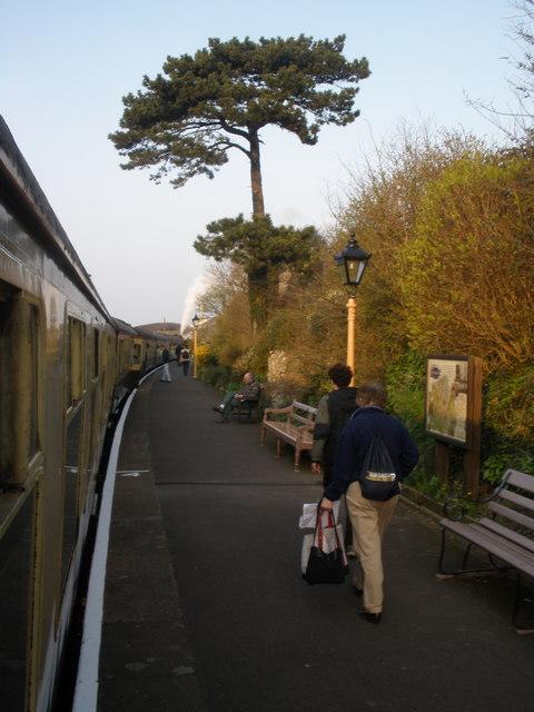 Watchet Railway Station