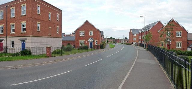 Tiverton : Moorhayes, Lea Road
