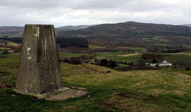 Trig point on White Hill