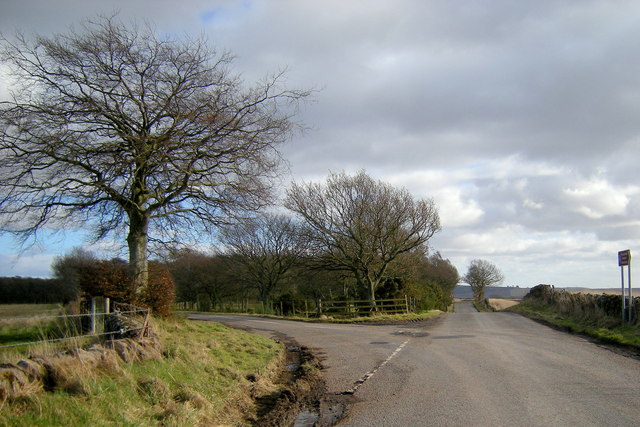 Glen Ogil / Baldoukie Road at its junction with the road leading to Tannadice