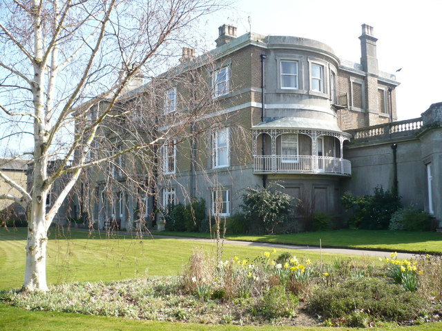 The rear of Quex House, Birchington