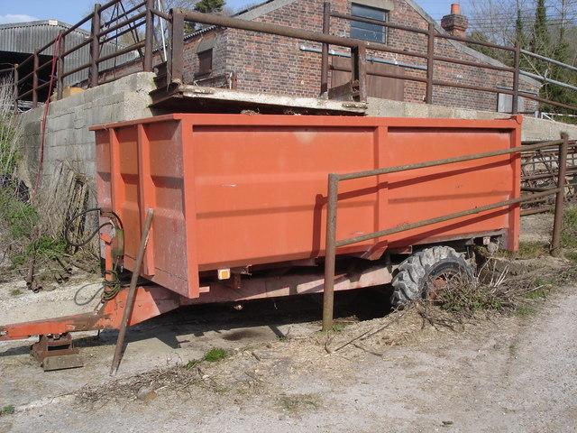 Litlington - farm trailer