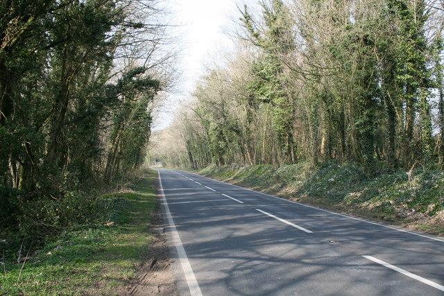 A424 at Wyck Hill