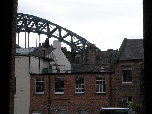 Tyne Bridge, from Broad Chare
