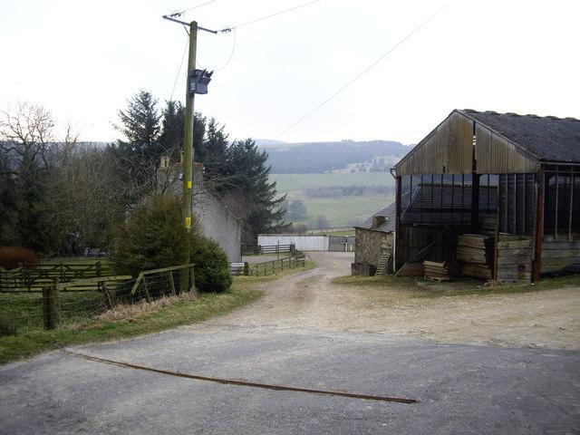 Easter Boghead farmyard