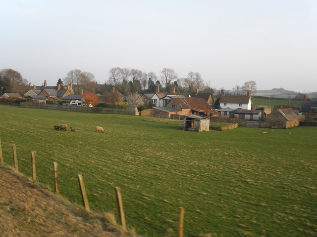 Woolston village, Somerset