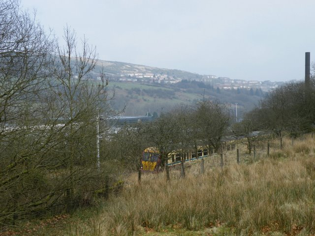 Train in Spango Valley