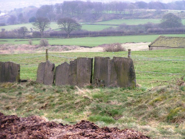 'Wall' adjoining the Magna Via on Beacon Hill