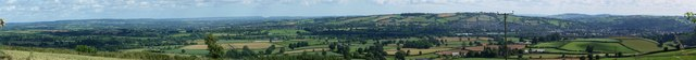 Mid Devon : Tiverton from Barton Hill