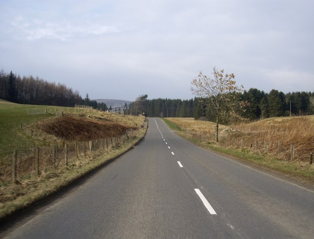 A920 west from Oldmanse Farm