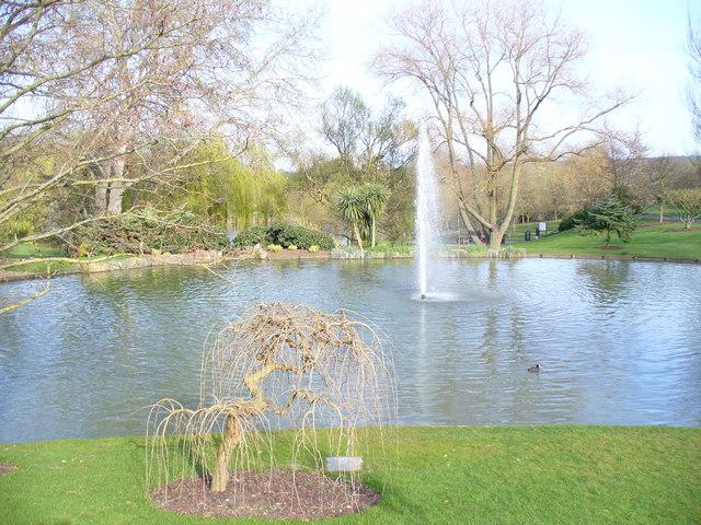 Lake on Surrey Campus