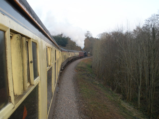Train, near Crowcombe