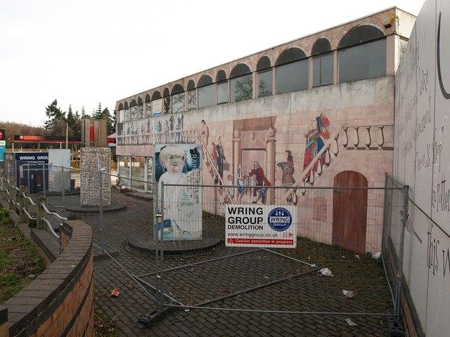 Cardew Pottery under demolition (2)