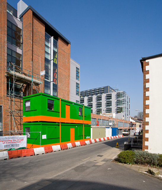 Refurbishment of Ashburton Court, Tower Street