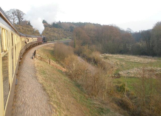 Railway embankment, near Crowcombe