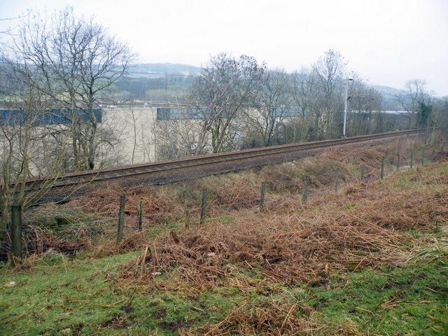 Railway in Spango Valley