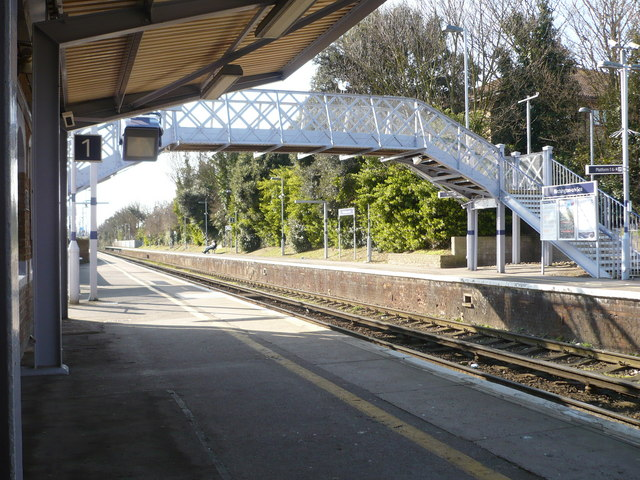 Platform 1 at Birchington-on-Sea station