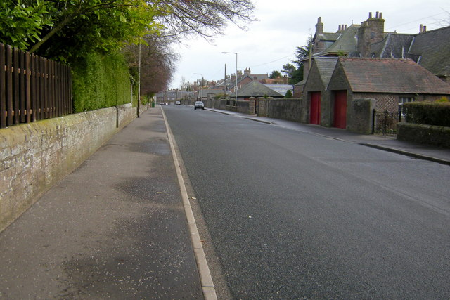 View of Robertson Terrace, Forfar