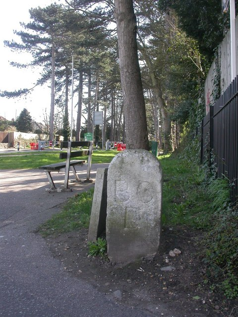 King's Park, boundary stone
