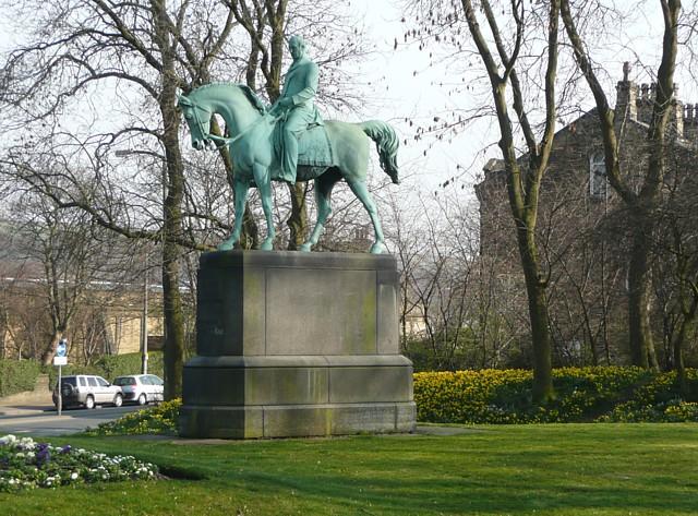 Statue of Prince Albert, Heath Road, Halifax