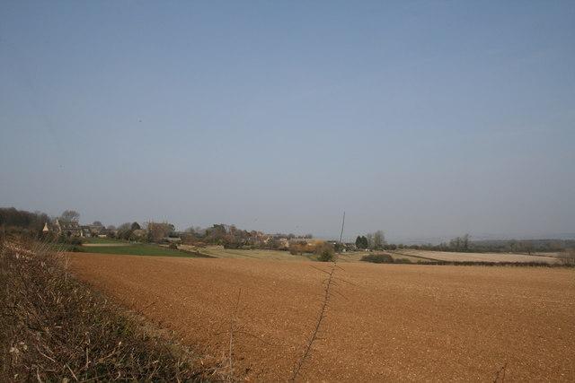 View towards Idbury