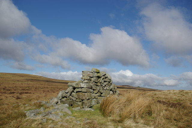Cairn on Craigs Hill