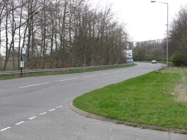 A60, looking north from the old road access