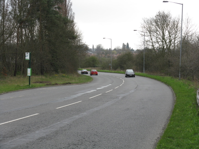 A60, looking south from the old road access
