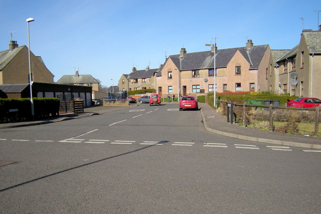 View of Easterbank, Forfar,  from Kings Road